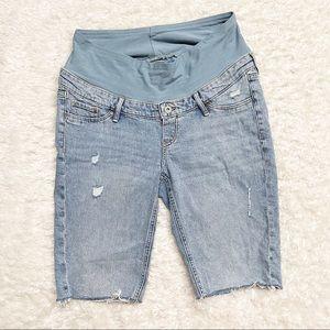 H&M Mama Maternity Denim Shorts